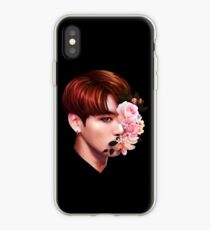 Flowers + Jungkook iPhone Case