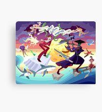 Ron Burgundy vs Scaramouche Canvas Print