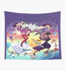 Ron Burgundy vs Scaramouche Wall Tapestry