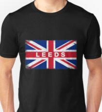 Leeds Shirt Vintage United Kingdom Flag T-Shirt Unisex T-Shirt