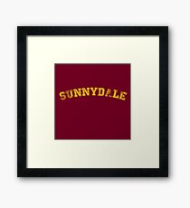 Sunnydale High : Inspired by Buffy The Vampire Slayer Framed Print