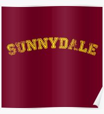 Sunnydale High : Inspired by Buffy The Vampire Slayer Poster