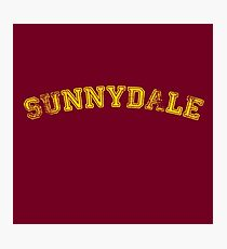Sunnydale High : Inspired by Buffy The Vampire Slayer Photographic Print