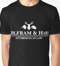 Wolfram And Hart : Inspired by Buffy The Vampire Slayer / Angel Graphic T-Shirt