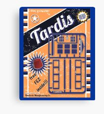TIMELORDS GADGET VINTAGE Canvas Print