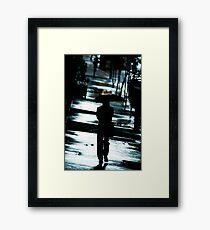monday blues Framed Print