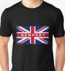 Newport Shirt Vintage United Kingdom Flag T-Shirt Unisex T-Shirt