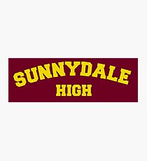 Buffy The Vampire Slayer Sunnydale Photographic Print