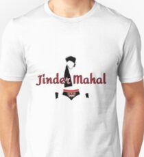 Jinder Mahal Outline T-Shirt