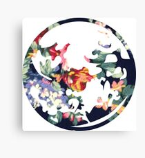 Floral Earthbound Canvas Print