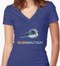 Subnautica Seamoth Women's Fitted V-Neck T-Shirt