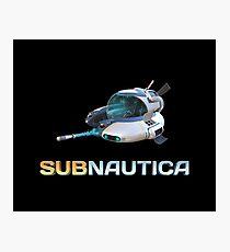 Subnautica Seamoth Photographic Print