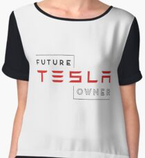 Future Tesla Owner Chiffon Top
