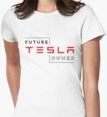 Future Tesla Owner Women's Fitted T-Shirt