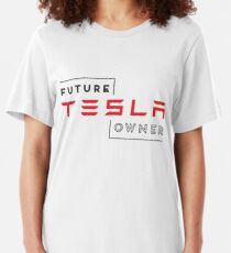 Future Tesla Owner Slim Fit T-Shirt