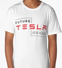 Future Tesla Owner Long T-Shirt