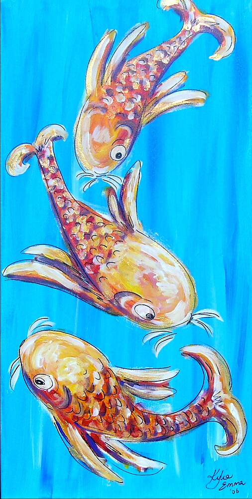 Lucky Fish! by Kylie Blakemore