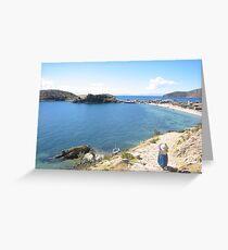 Lake Titicaca Greeting Card