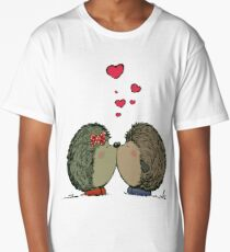 Hedgehogs in love Long T-Shirt