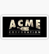 Acme Corporation Logo Sticker