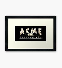 Acme Corporation Logo Framed Print
