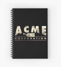 Acme Corporation Logo Spiral Notebook