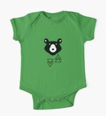 Grizzly Bear One Piece - Short Sleeve