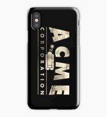 Acme Corporation Logo iPhone Case/Skin