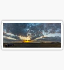 SUNSET - PANORAMA Sticker