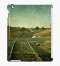 East Street Level Crossing - Uralla, NSW, Australia iPad Case/Skin