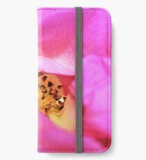 Blushing Rose iPhone Wallet/Case/Skin