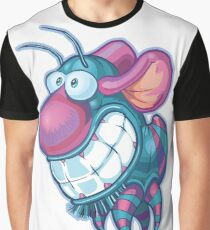 Funny Insect Graphic T-Shirt