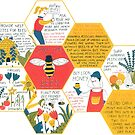 Save the Bees print by Tess Smith-Roberts