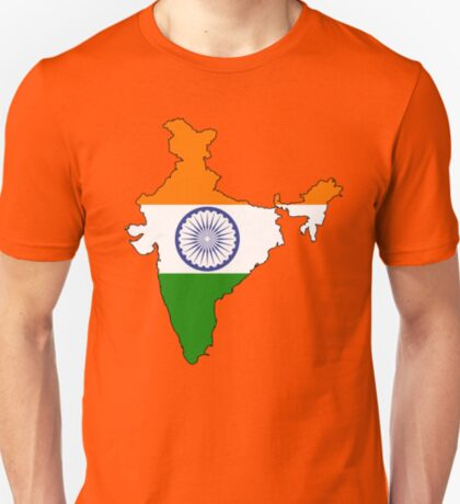 India Country and Flag T-Shirt