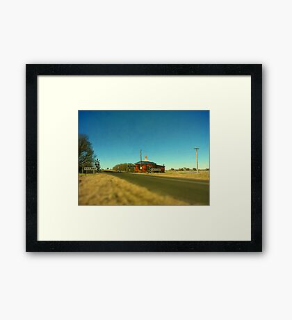 Barleyfields Crossing - Uralla, Northern Tablelands, NSW Framed Print