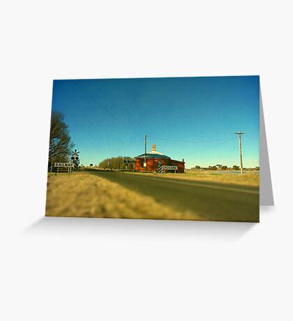 Barleyfields Crossing - Uralla, Northern Tablelands, NSW Greeting Card