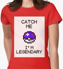A great catch - special pixel edition Womens Fitted T-Shirt