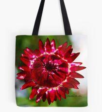 Floating Strawflower Tote Bag
