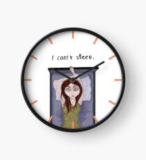 I can't sleep. Clock