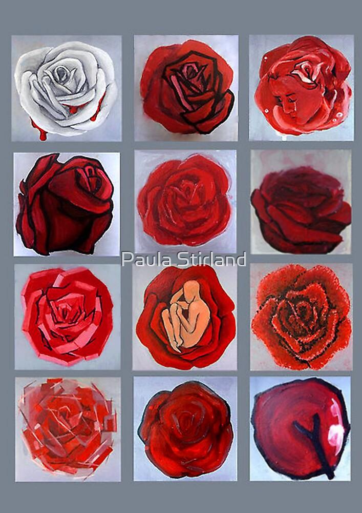 Art movement roses by Paula Stirland