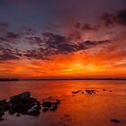The Sky Is On Fire by robcaddy