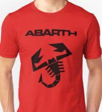 Abarth & scorpion (black) Unisex T-Shirt