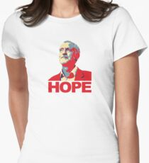 Jeremy Corbyn HOPE Womens Fitted T-Shirt