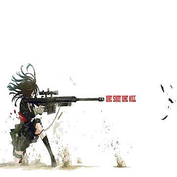 One Shot One Kill by AkumaNoKiss