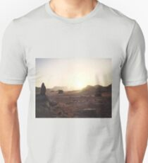 Sunset over Wadi Rum Unisex T-Shirt