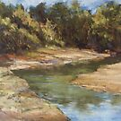 Lake Cathie - plein air by Terri Maddock