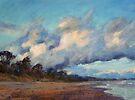 Sunset over Rainbow Beach by Terri Maddock