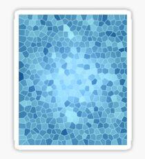Blue Glass Sticker