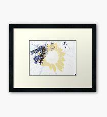 A Layer of Sun Framed Print