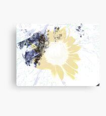 A Layer of Sun Canvas Print